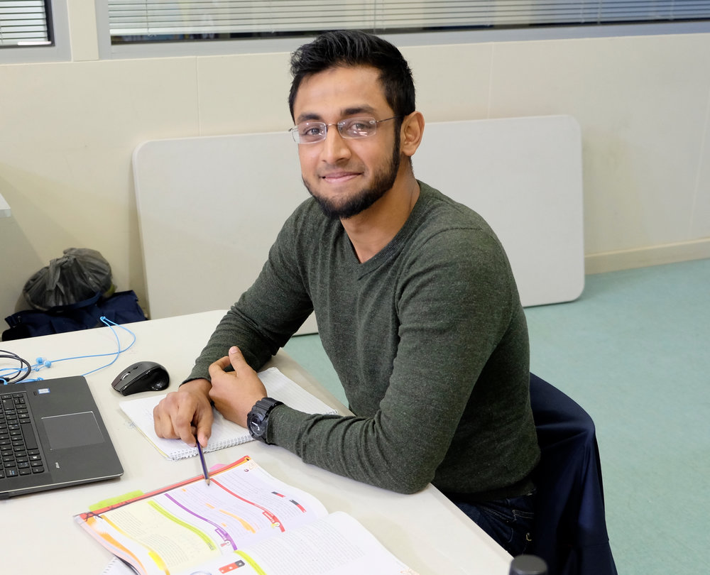 Shadman is a Physics and Mathematics student at the University of Melbourne. He had an ulterior motive when he joined HBE, which was to make all the students want to become physicists. He believes that there are way too many health science students in the world, and too little physicists. Shadman has created and nurtured a very strong physics culture at HBE. If you've ever had a teacher who radiates passion and energy and enthusiasm for their subject, then you can probably imagine what Shadman is like. A2 Results: (Year 12 eqv) Maths: 95 / Physics: 87