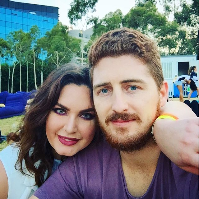 Coloured contacts are coming out of retirement! At the Open Air Cinema tonight with my love @jimmy_reido #vegansofsydney #sydneylife #contacts