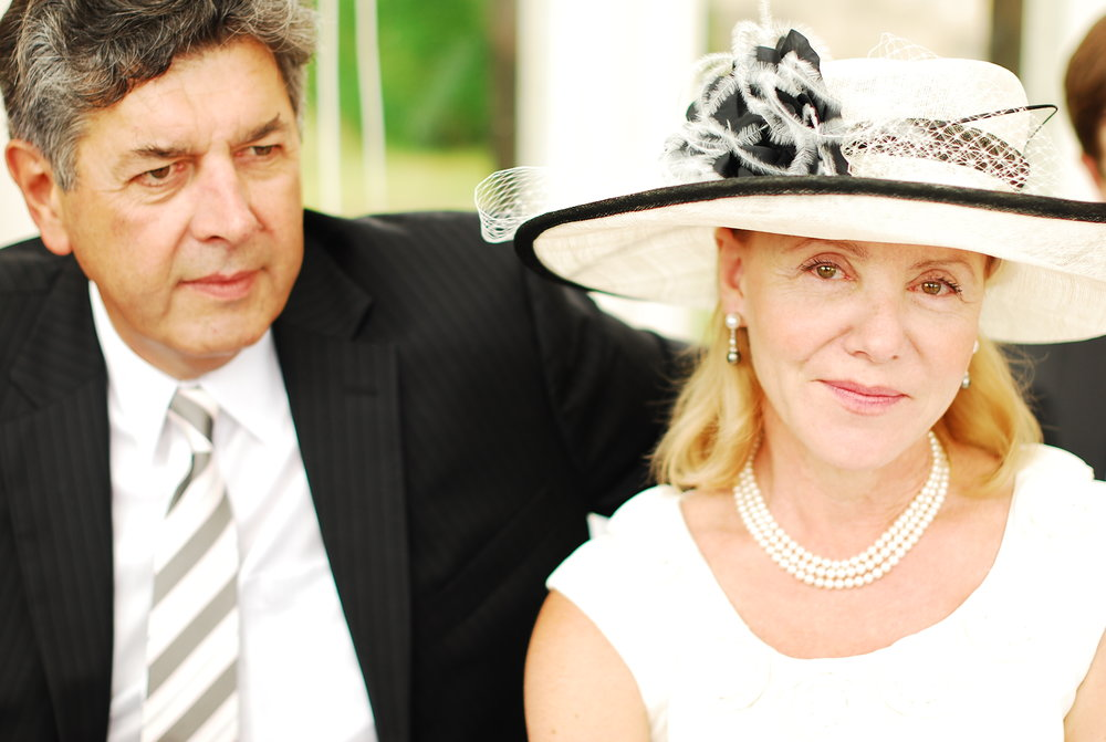 Mum and dad, Grantham