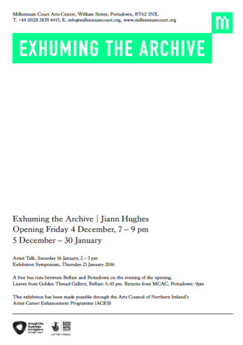 Exhuming the Archive invite
