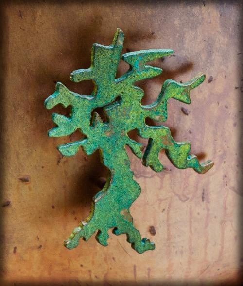 Sacred Tree on Starfield Urn