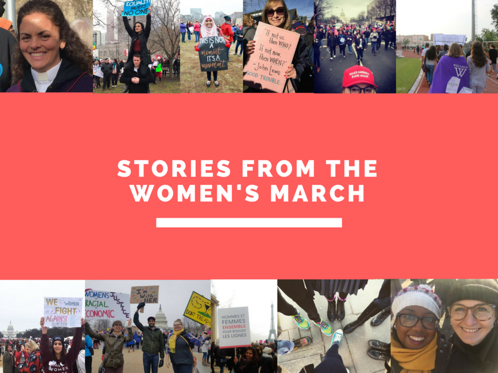 Stories from the Women's March