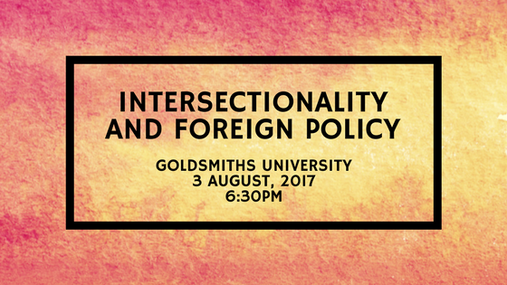 Intersectionality and Foreign Policy Feminist