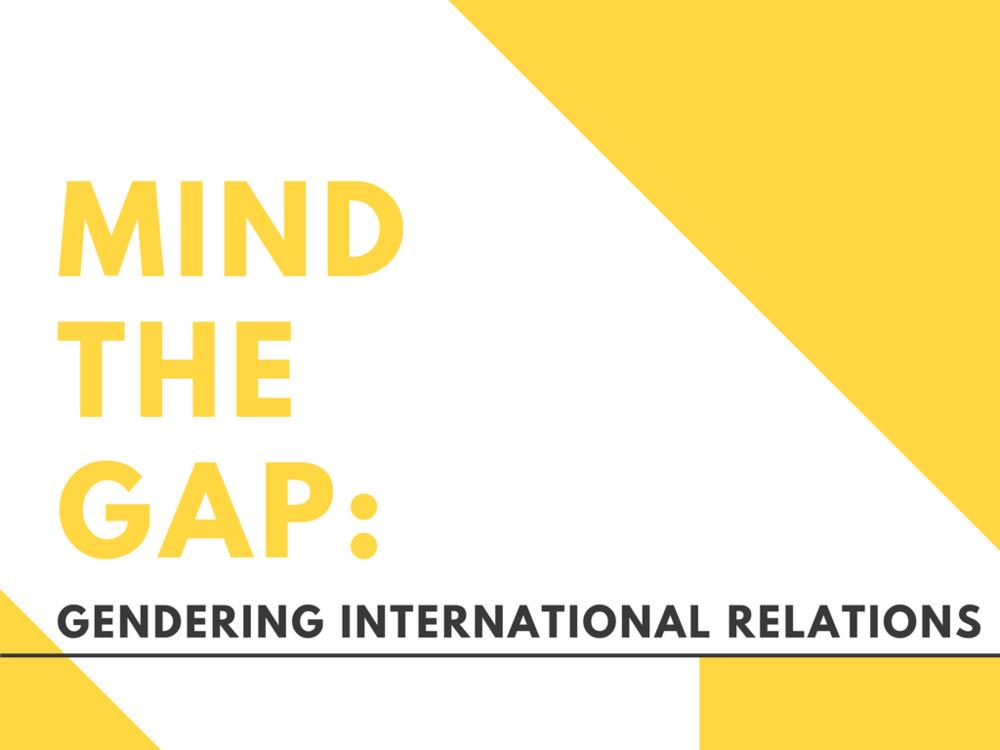 Gender Studies Gendering International Relations Feminist Foreign Policy Martine Heijthuyzen
