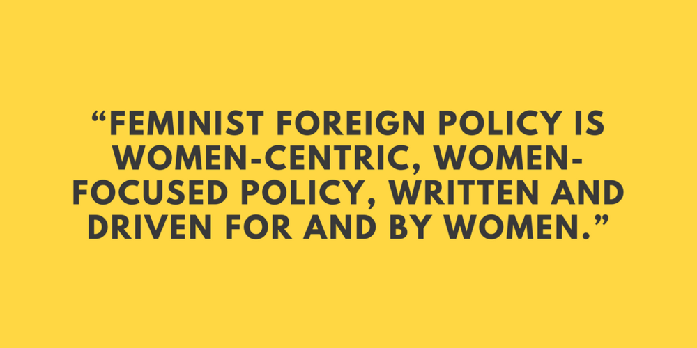 Lia Miller Centre for Feminist Foreign Policy US Foreign Service