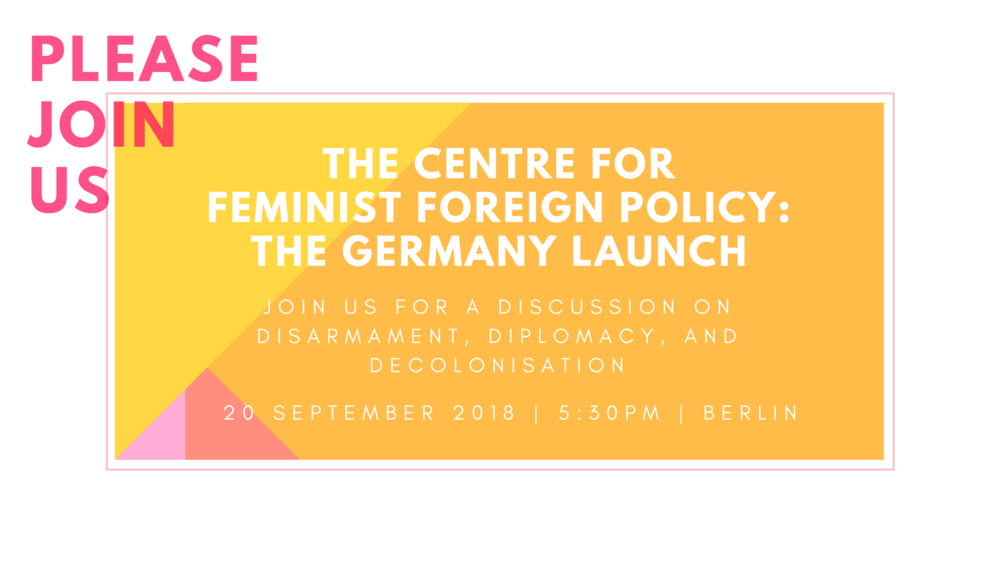 CFFP Germany Launch 20 Sept
