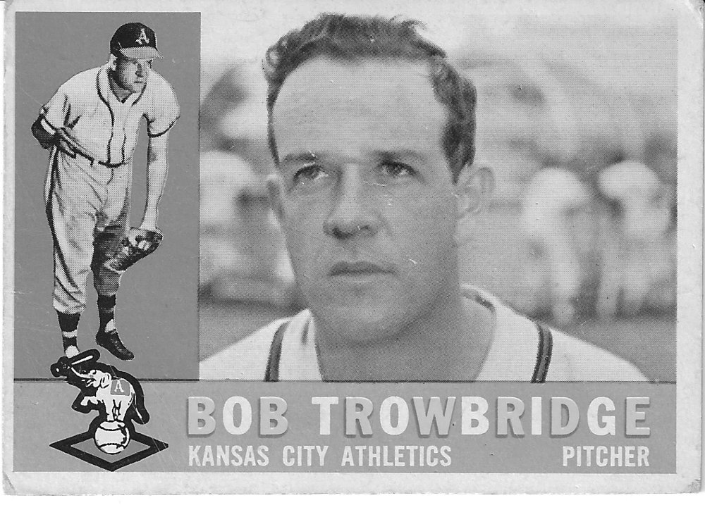 """Trow"" was 13-13 in his major league career, including 7-5 in the Braves' 1957 world championship season. He was later traded to Kansas City."