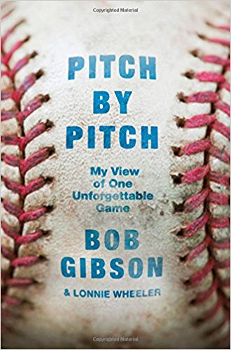 10. - Pitch by Pitch, by Bob Gibson and Lonnie Wheeler. Gibson goes through every pitch of his transcendant performance in Game One of the 1968 World Series in which he struck out 17 Tigers. Makes you feel like you are on the mound with Gibson.