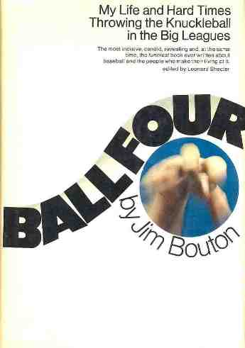 6. - Ball Four, by Jim Bouton. The Long Season made Ball Four possible. Bouton, a former Yankee power pitcher in the early 1960s, chronicles his 1969 season throwing knuckle balls for the lowly Seattle Pilots. Its honest revelations about what really happens in the clubhouse and after games made it one of the most controversial and influential sports books of all time.