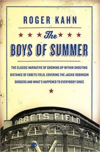 2. - The Boys of Summer, by Roger Kahn. A history of the Brooklyn Dodgers by a sports writer who grew up near Ebbets Field and loved the great -- but hard-luck -- Dodgers to distraction. For casual baseball fans, this is the book to read.