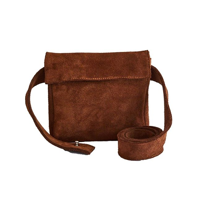 Cowboy Brown Belt Bag AW18 Collection. Find online now £65.  #wolfandbadger  #presentsforher  #zwina