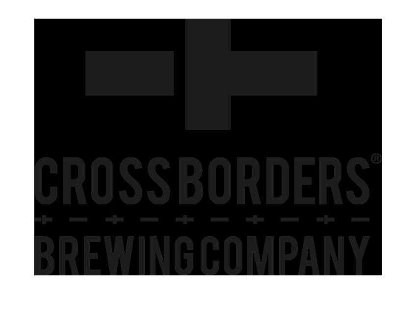Cross Borders Brewing Company Logo