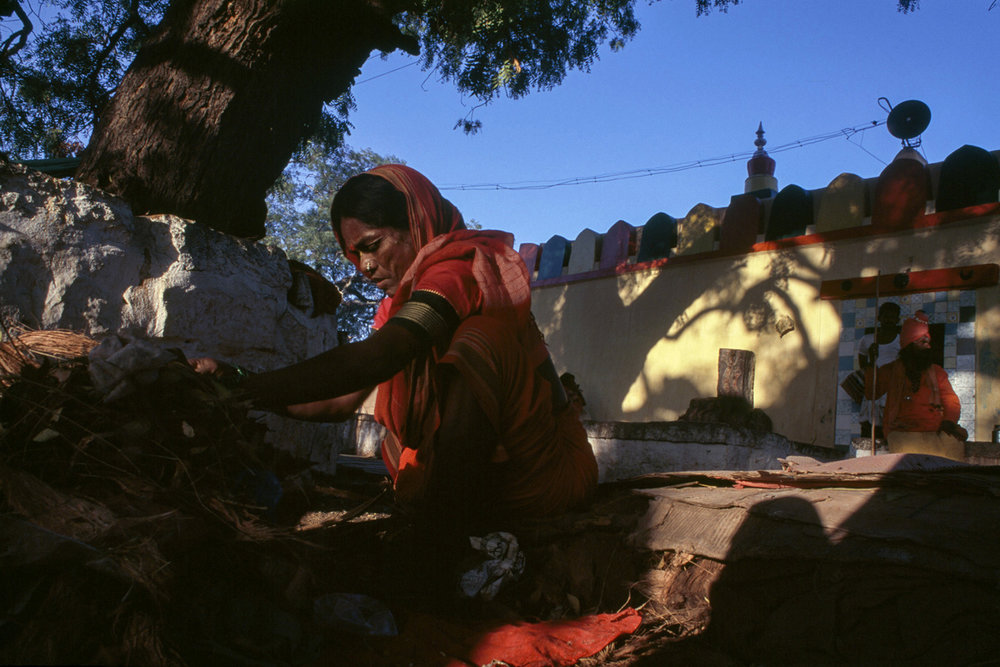"""Devadasi #2"" - Karnataka, India - 2000"