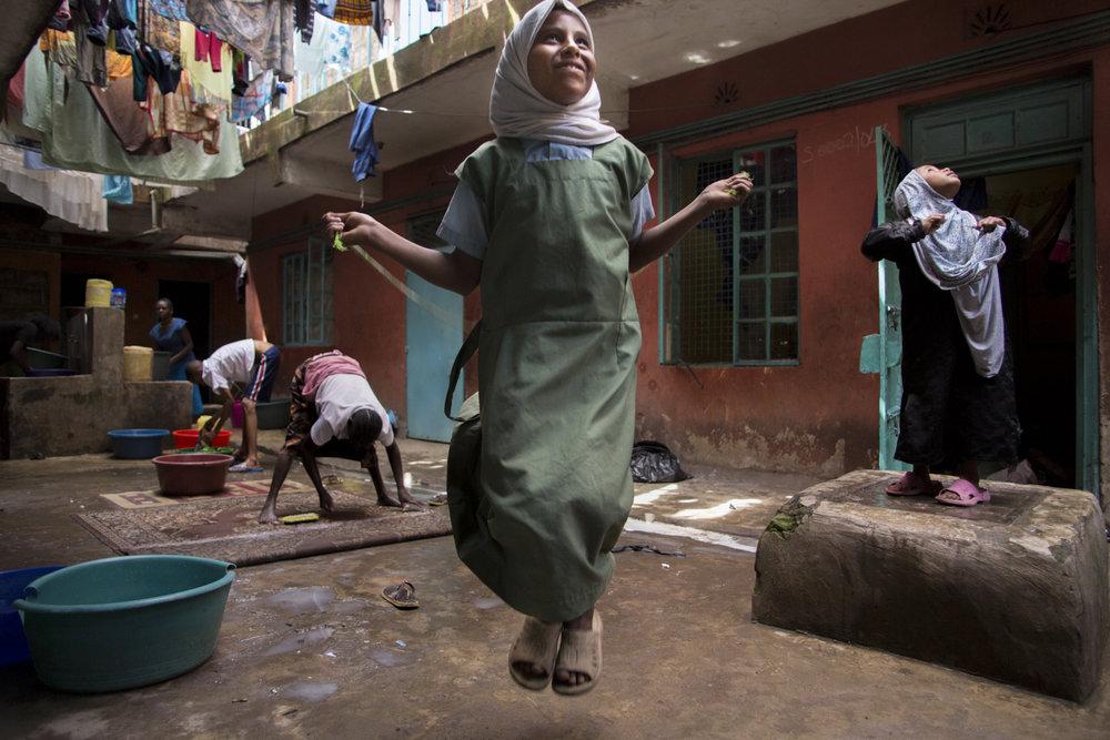 """Jump Rope"" - Nairobi, Kenya - 2013"