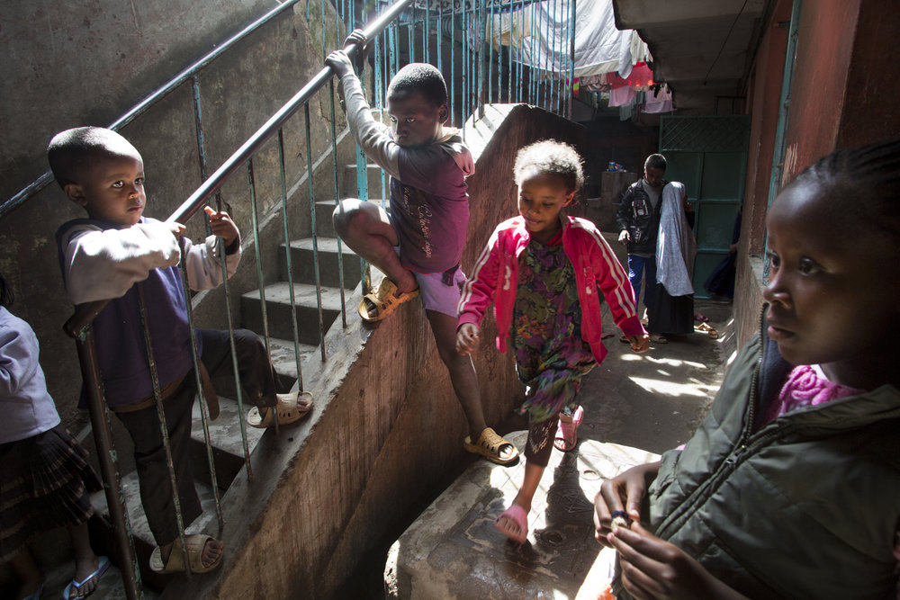 """Urban Refugee Children"" - Nairobi, Kenya - 2013"