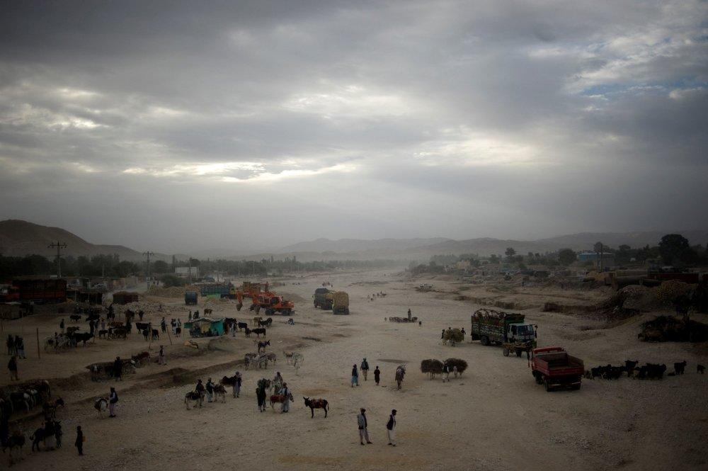 """Unraveling 06"" - Maimana, Afghanistan - 2010"
