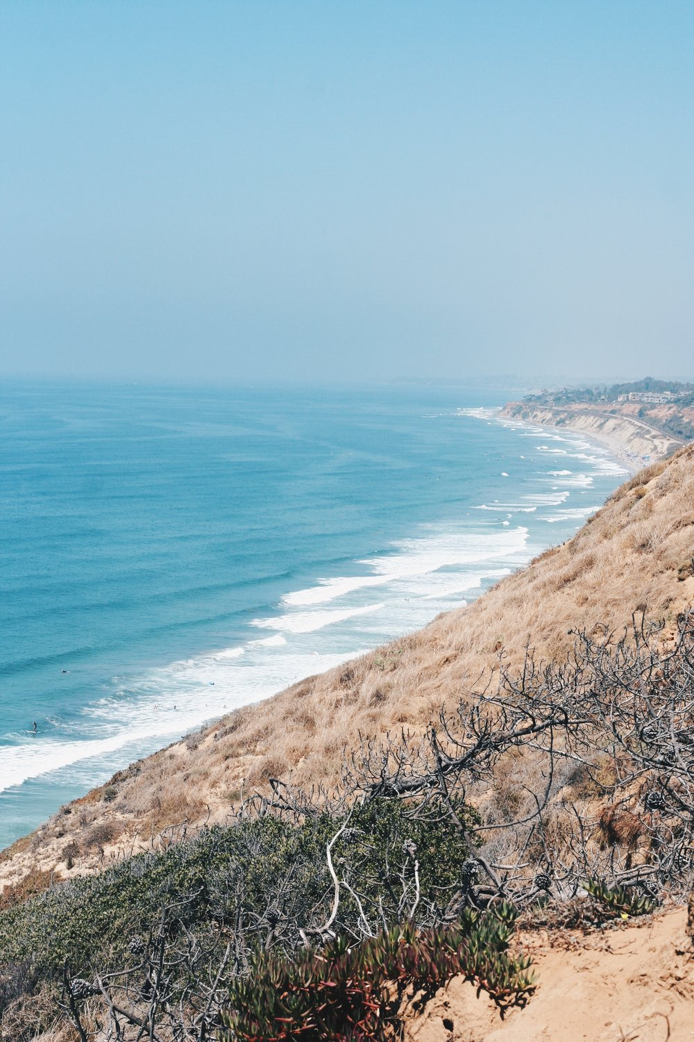 Hiking trails at Torrey Pines State Natural Reserve