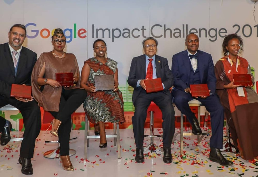 Judges of the 2018 Google Impact Challenge Kenya.