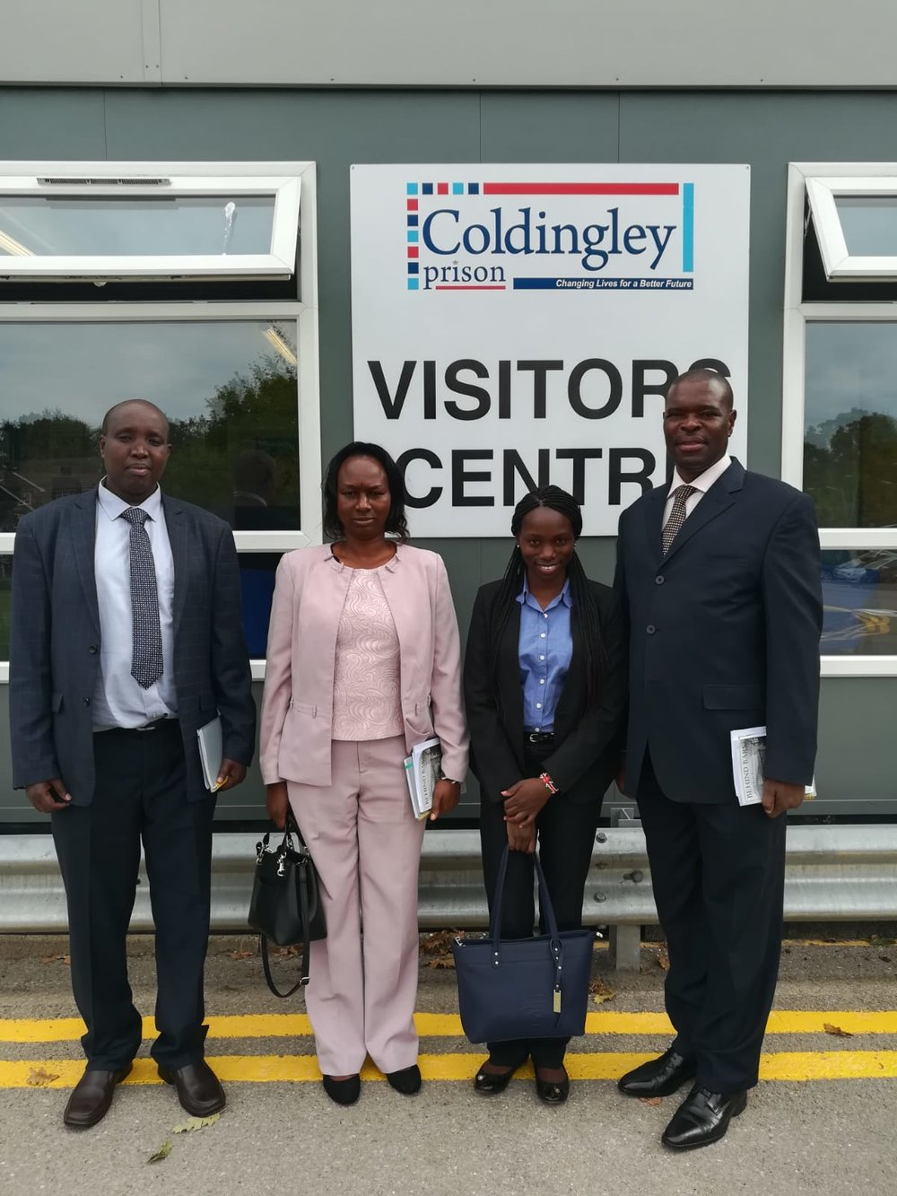 Prison Officers from Kenya during a recent Secondment Programme