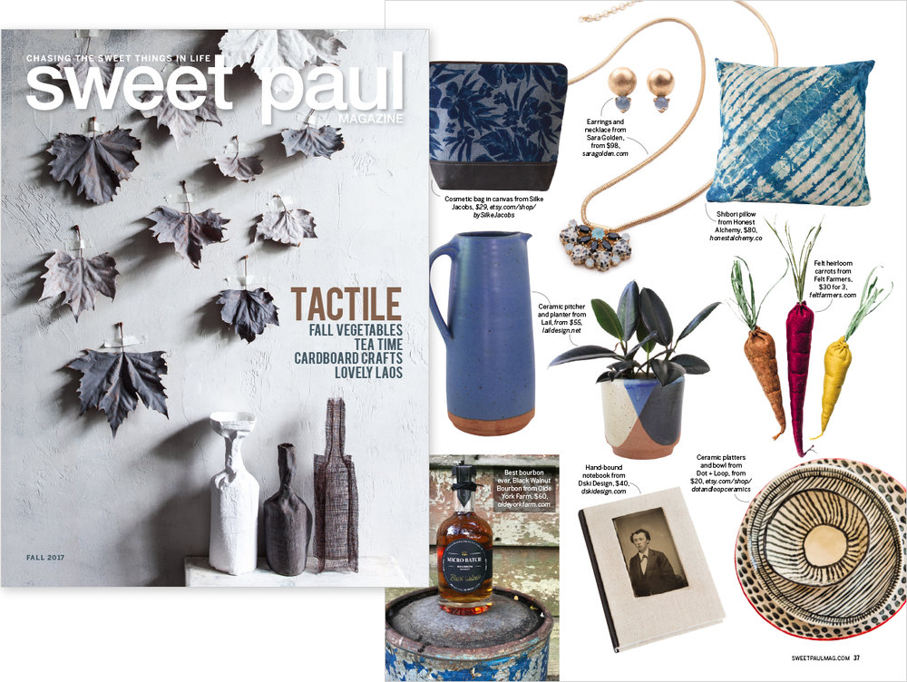 "Sweet Paul Magazine  , Fall 2017  ""This & That: Sweet Paul's Picks of the Season"""