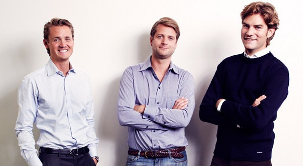 The Klarna founders: Niklas, Seb and Victor. Photo courtesy of Klarna