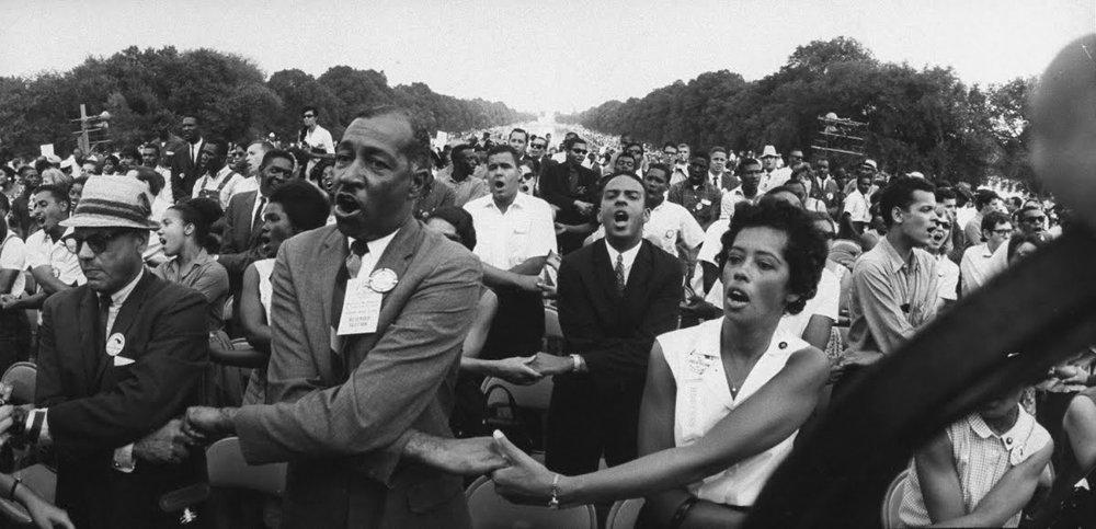 March on Washington, 1963 (Photo: Francis Miller)