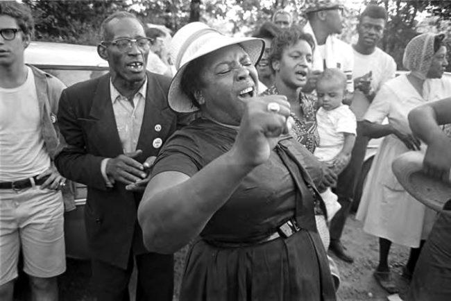 Fannie Lou Hamer, 1966 (Photo: Jim Peppler)