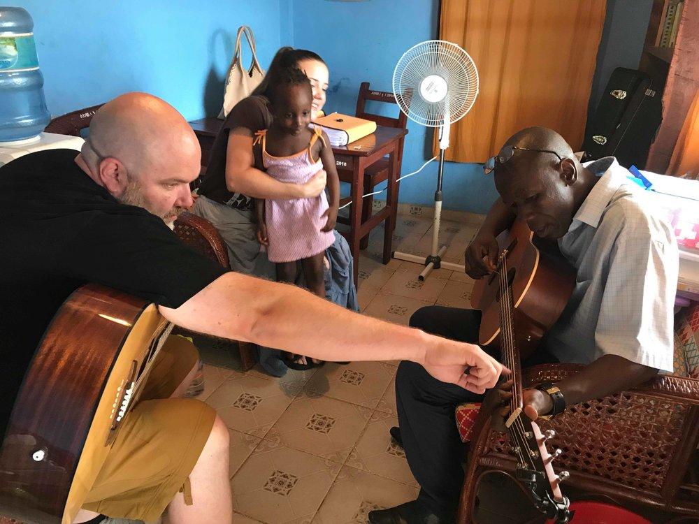 Guitar with Pastor Daniel