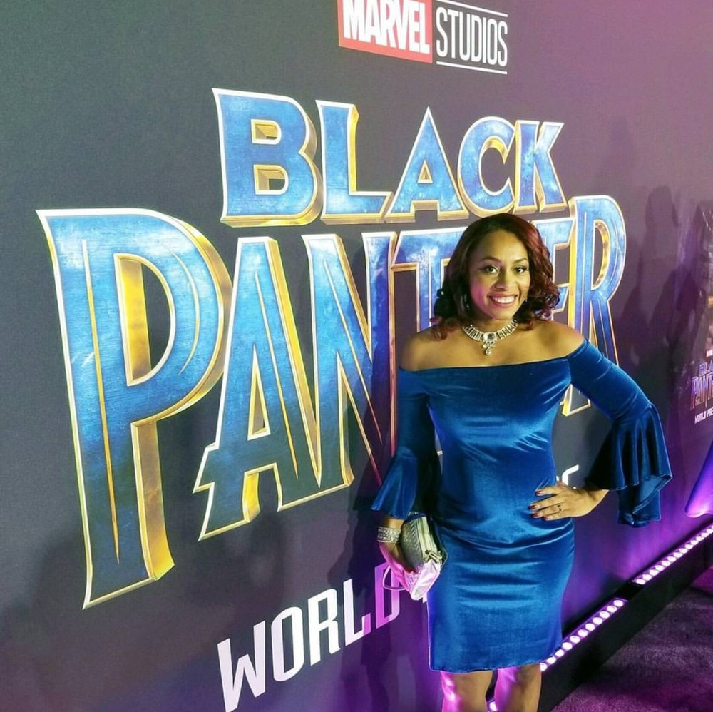 Ari Adams - Official Black Panther Premiere Red Carpet