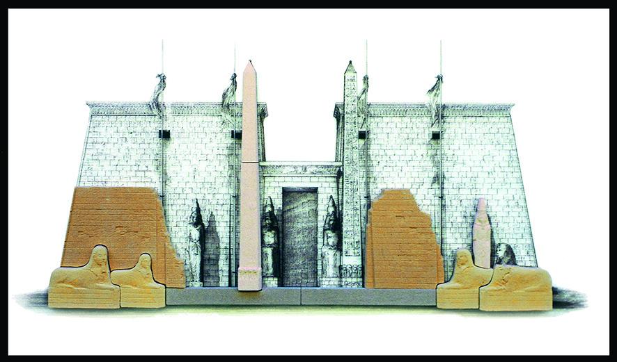 LUXOR, Egitto - cm. 80x40 - € 350,00