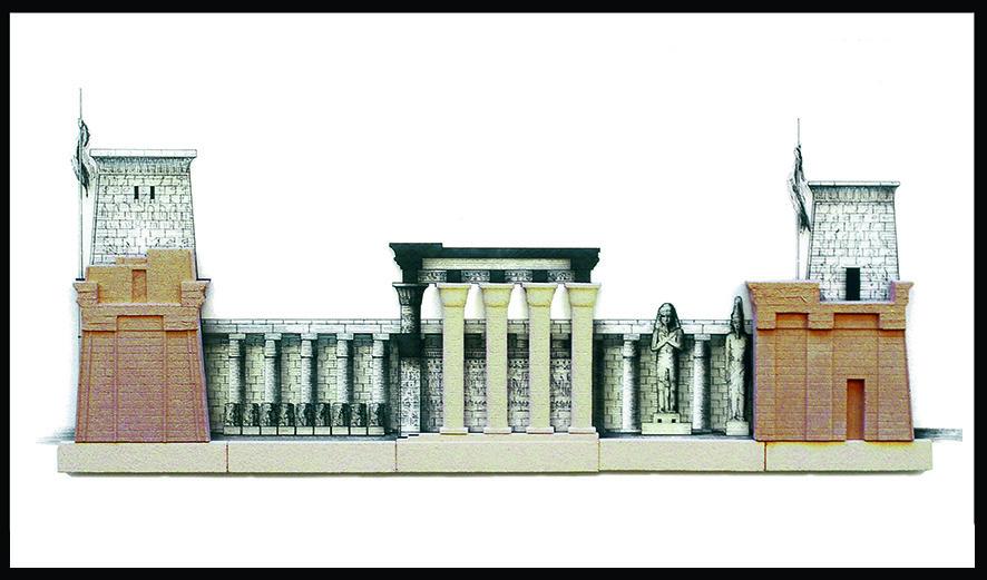 KARNAK, Egitto - cm 80 x 40 - € 350,00