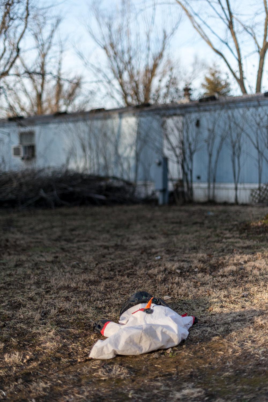 Deflated Snowman, Carlisle, Indiana, 2017