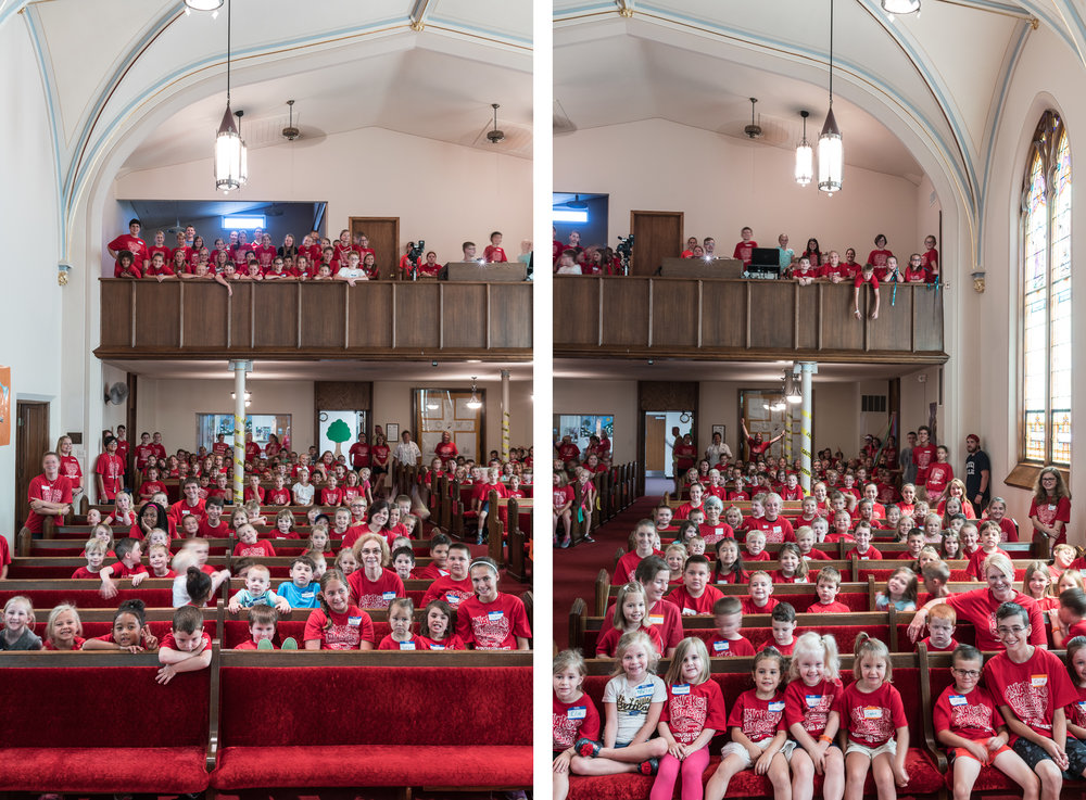 Vacation Bible School, Mascoutah, Illinois, 2017