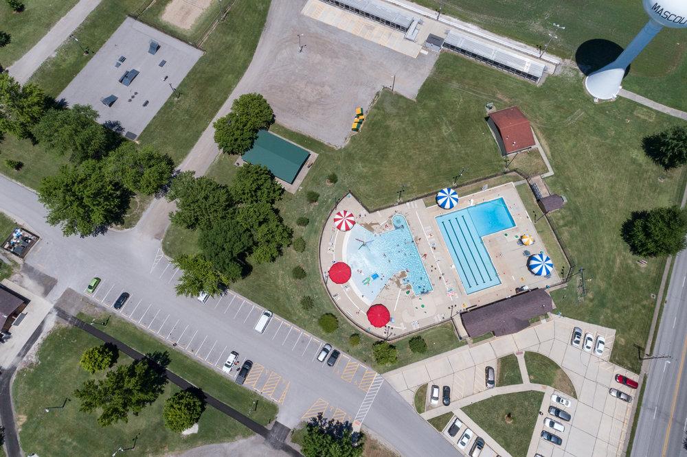 Public Pool, Mascoutah, Illinois, 2017
