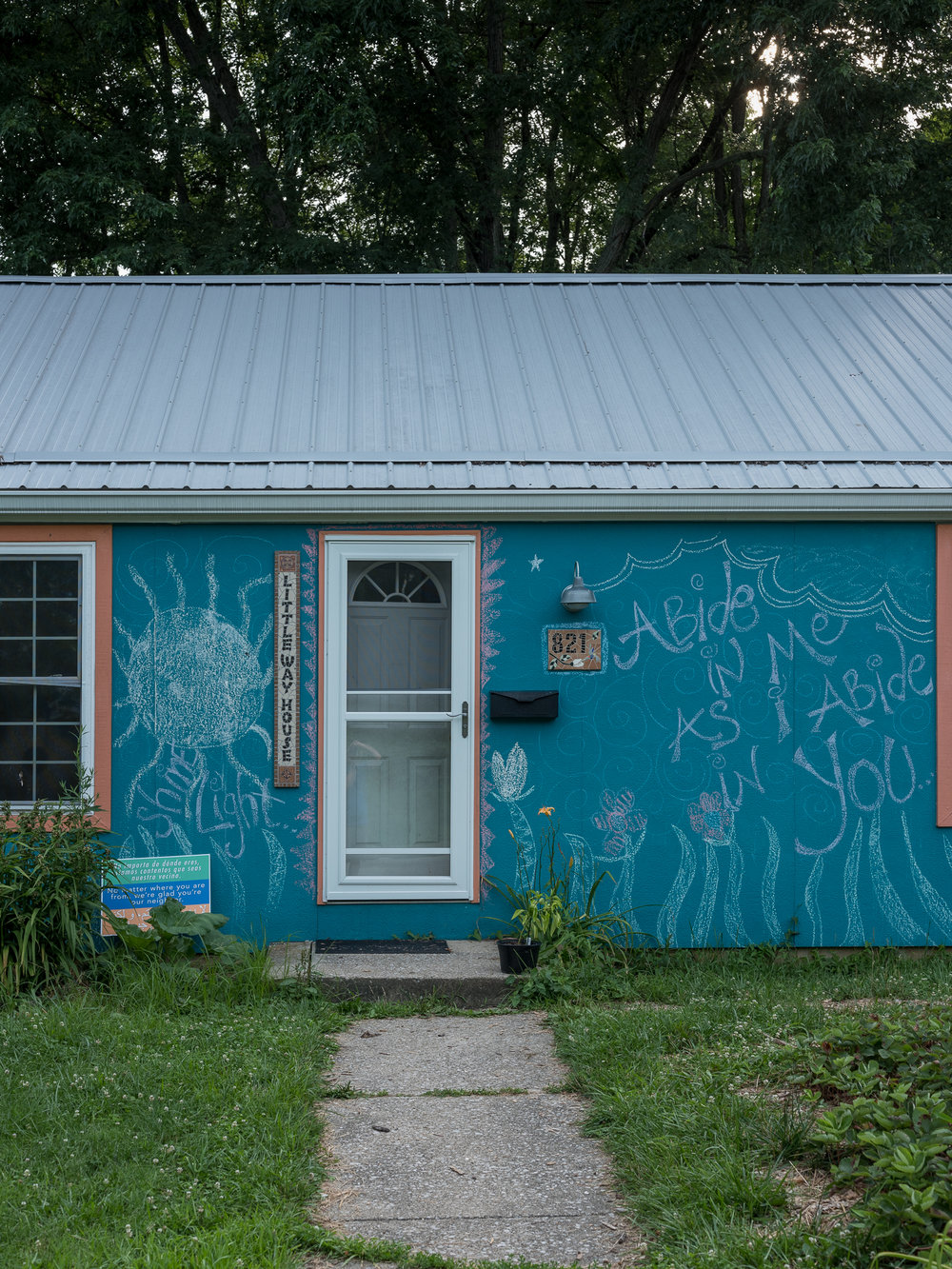 The Blue House, Bloomington, Indiana, 2018