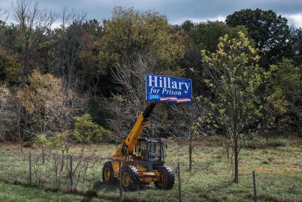 HIllary for Prison, Ellicott City, Maryland, 2015