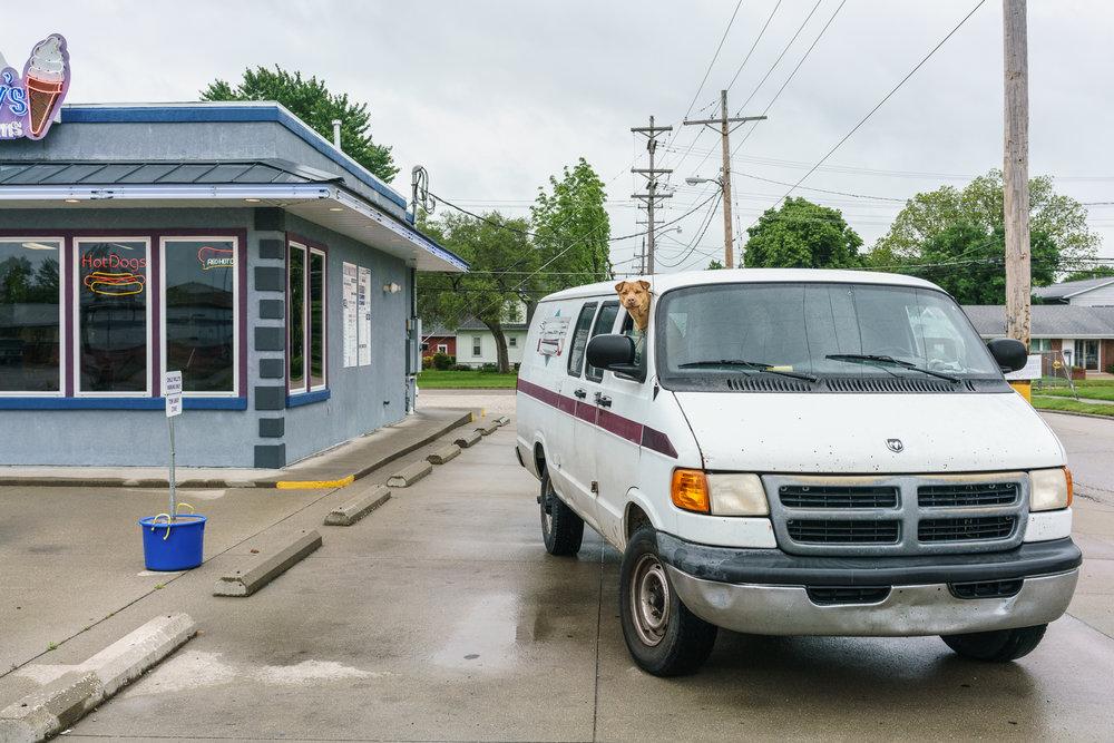 Van Dog, Olney, Illinois, 2016