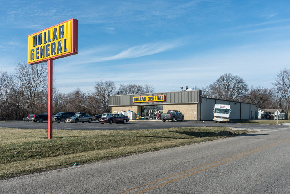 Dollar General, Carlisle, Indiana, 2017