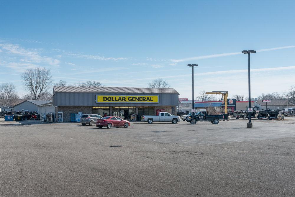 Dollar General, Spencer, Indiana, 2017