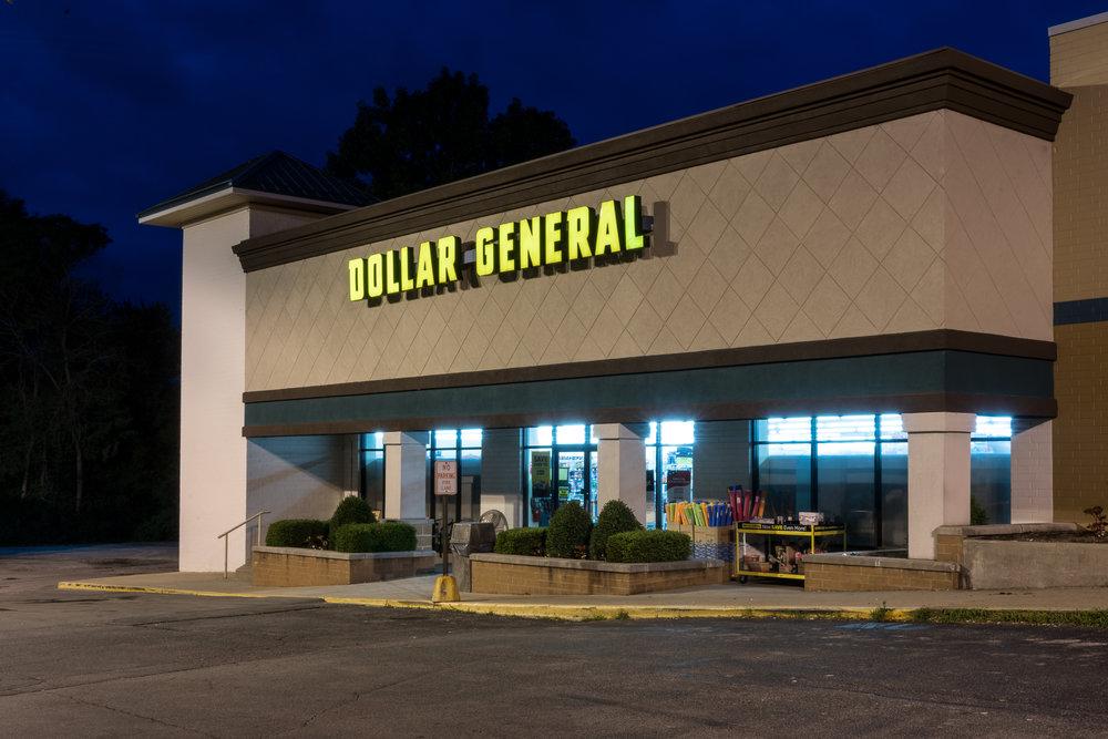 Dollar General, Bloomington, Indiana, 2018