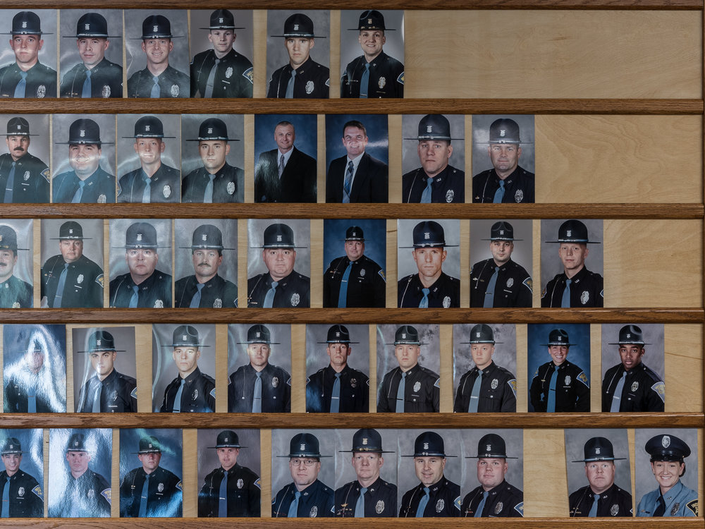 Indiana State Police (Detail), Bloomington, Indiana, 2018