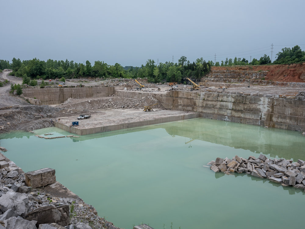 Empire Quarry, Oolitic, Indiana, 2018