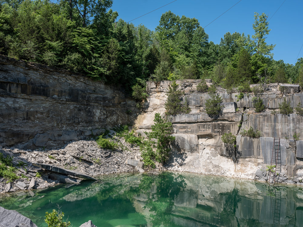 Furst Quarry, Bloomington, Indiana, 2018