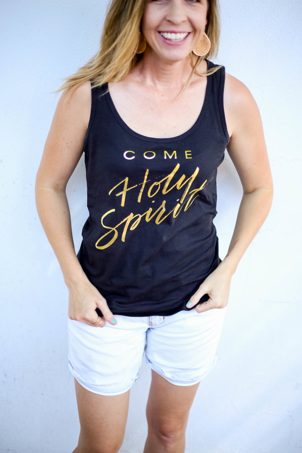 Come Holy Spirit Women's Tank | (C) Raw Sugar Writes