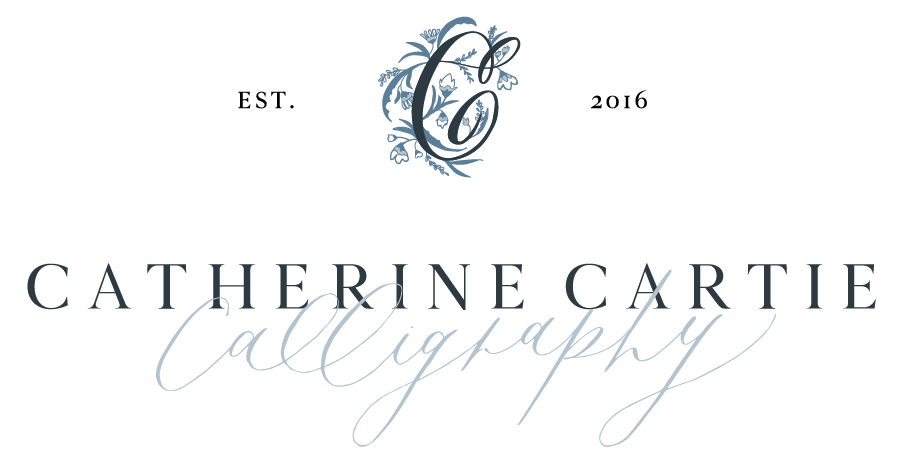 Catherine Cartie Calligraphy