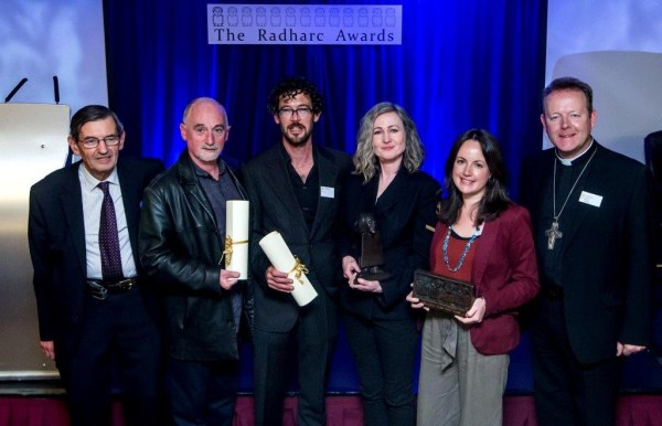 The Radharc Award is the highest commendation in Ireland for social documentarians. It was an honour to receive the first prize, and to take the Moone Man trophy home.