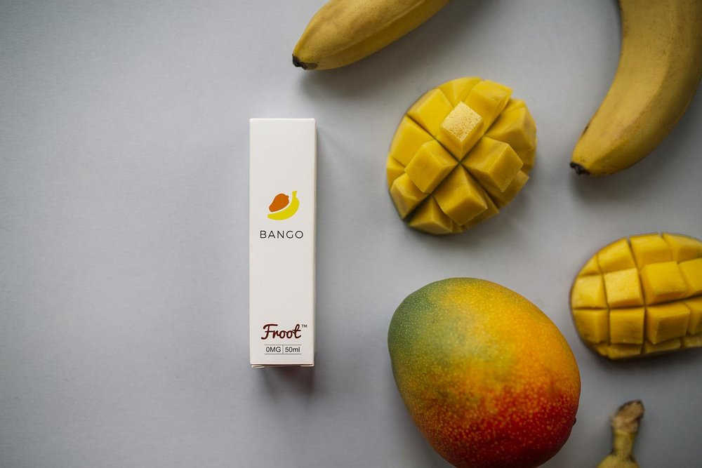 BANGO - A succulent Banana and Mango smoothie, that is sure to be your 'lift me up'. Taste the summer when you vape these carefulyl blended tropical fruit. If you're feeling like something a little more exciting, it's time for Bango!