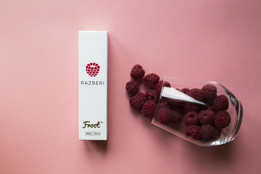 RAZBERI - Freshly picked raspberies, lots of them! Simple, smooth on the inhale, yet still full of flavor on the exhale. With RAZBERI you will find that this flavor is the ultimate all day vape. Once you've tried it, you will just keep coming back for more.