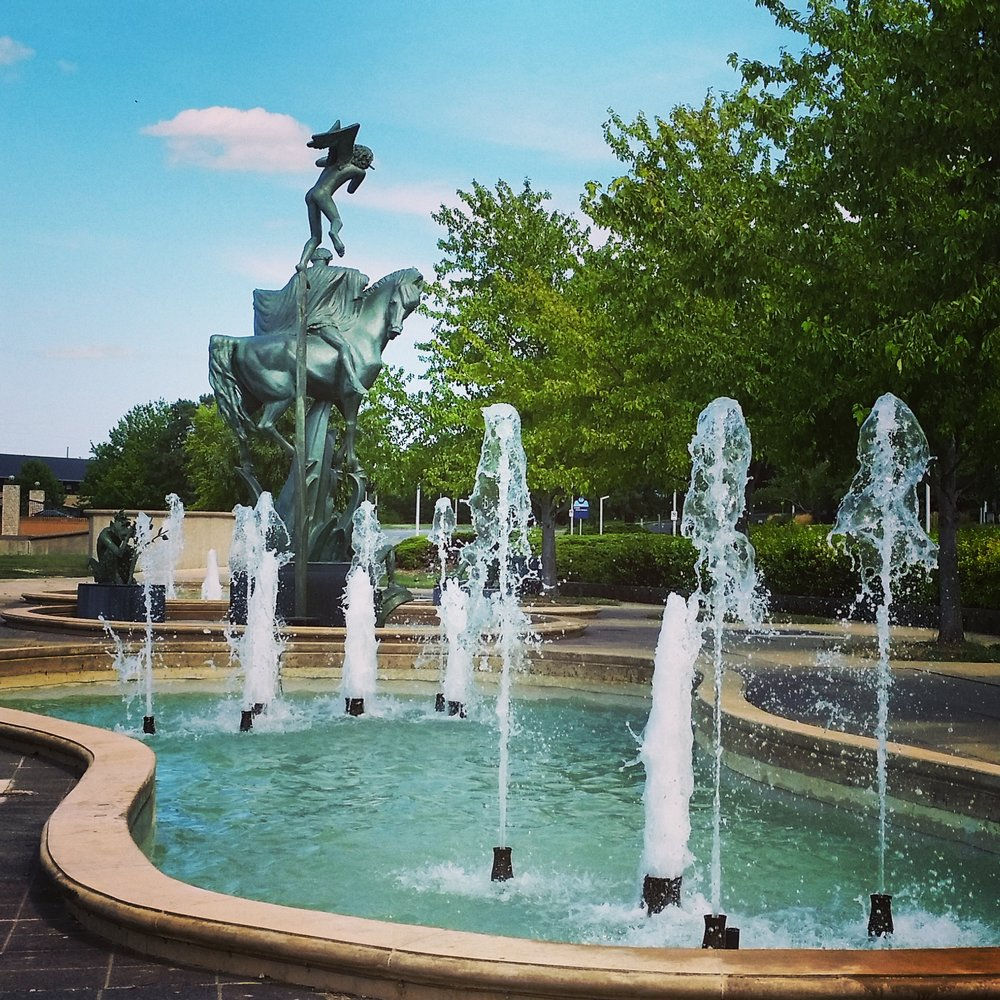 Fountains on THE PLAZA