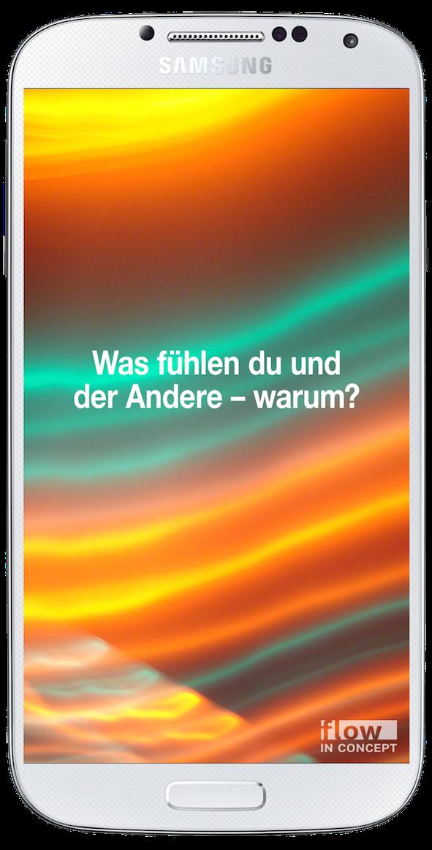 Emotionale Intelligenz, aktiviert durch ein Samsung Smartphone.